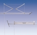 Lift Laundry Drying Rack Ceiling Clothes Airer - 272-UK