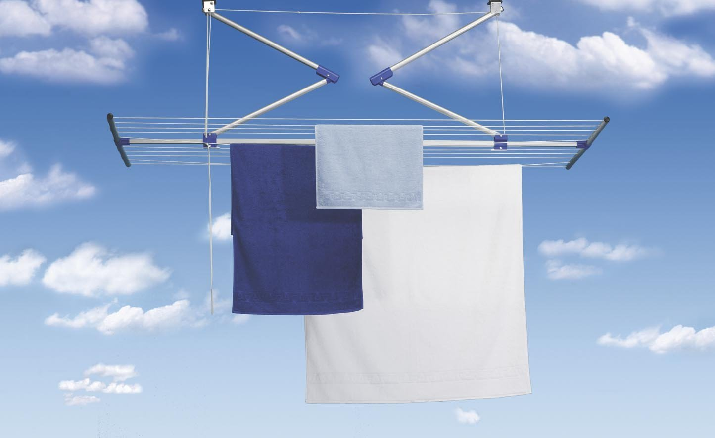 Lift Laundry Drying Rack Ceiling Clothes Airer