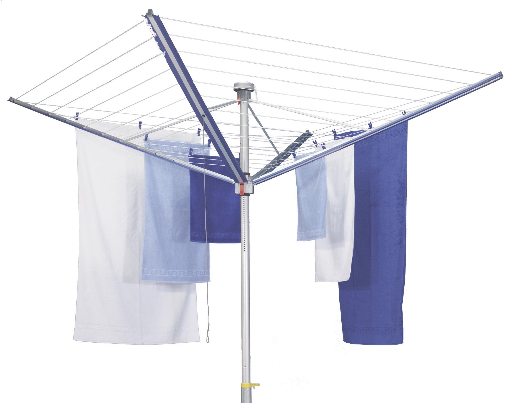 First Lady Rotary Outdoor Umbrella Clothesline