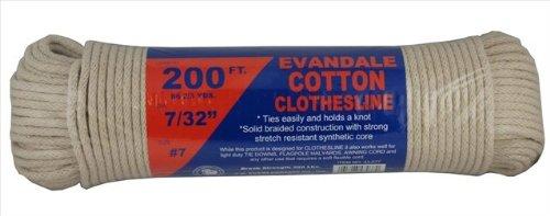 Heavy Duty Cotton Clothesline Rope Clotheslines Com