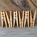 American Handmade Wooden Clothespins - 123