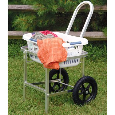 Amish Laundry Trolley Cart