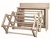 Expandable Wall-Mounted Wooden Drying Rack  -