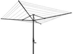 Foldaway Rotary Outdoor Umbrella Clotheslines