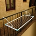 Handrail Indoor/Outdoor Drying Rack Clotheshorse - 40284