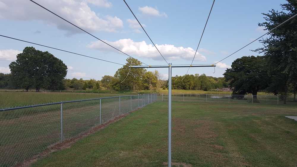 Heavy Duty T Post Clothesline Poles