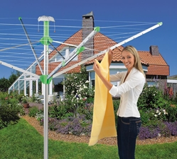 NovaPlus Rotary Outdoor Umbrella Clothesline