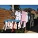 Portable Folding Clotheslines -