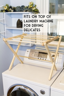 Tabletop Amish Clothes Drying Rack