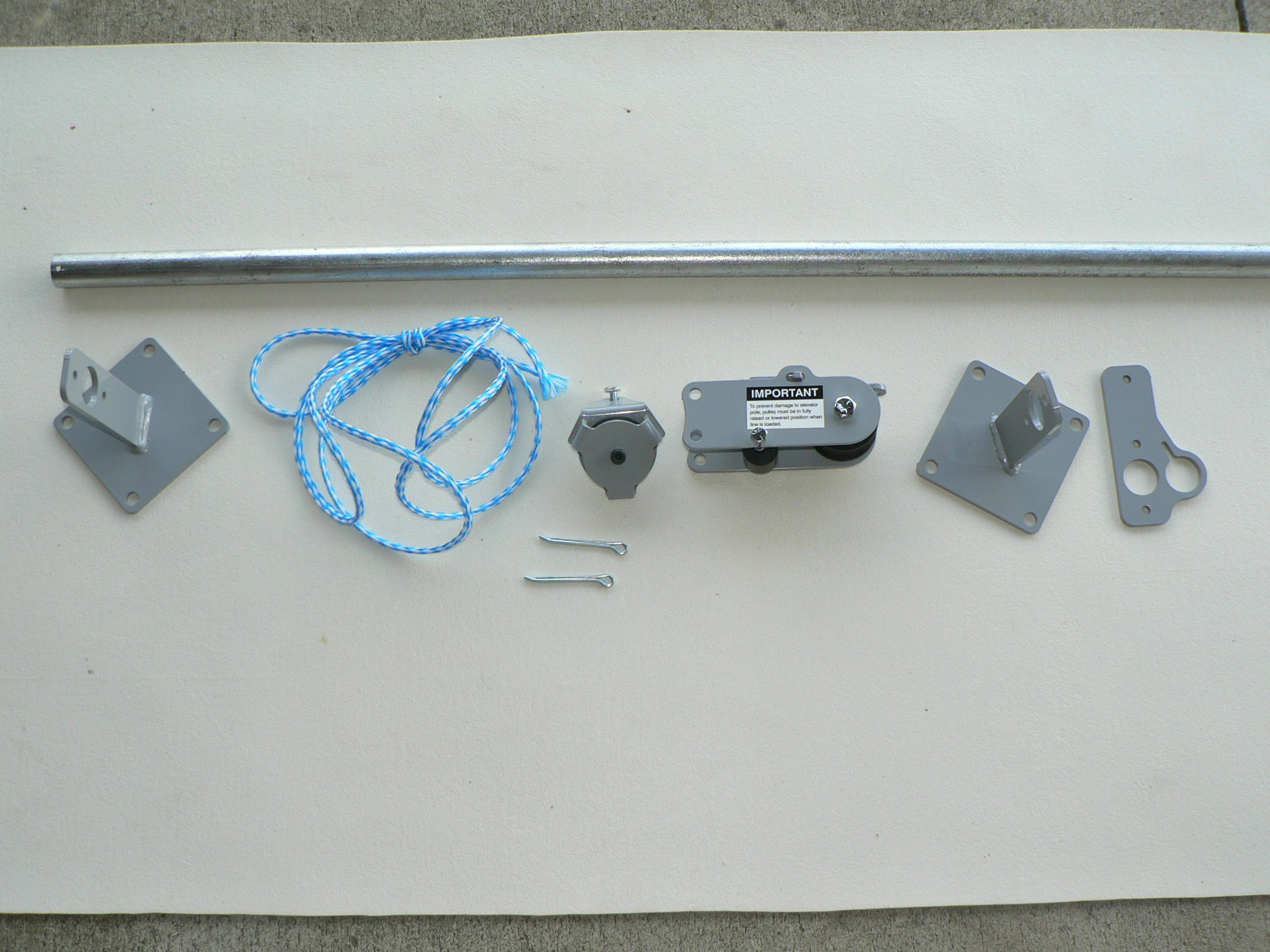 Deluxe Pulley Clothesline Elevator   Clotheslines.com