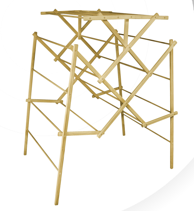 Superbe ... Portable Wooden Clothes Drying Racks   HG 302 ...