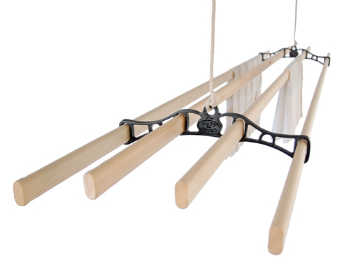 traditional ceiling clothes airer. Black Bedroom Furniture Sets. Home Design Ideas