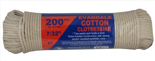 Evandale Premium Cotton Clothesline Rope