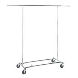 Commercial Folding Garment Rack