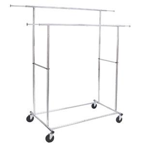 Commercial Folding Double Garment Rack   95521000 ...