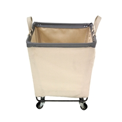 Square Natural Canvas Portable Laundry Hampers